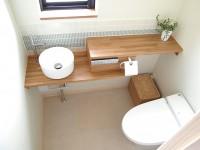 『トイレ』ナチュラルでお気に入りのレストルーム空間に。